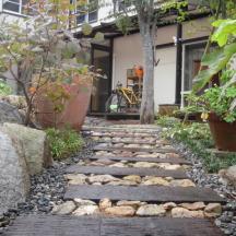 浜松市 I様邸 八ヶ岳のカフェテラス風庭園