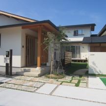 浜松市 I様邸 モダン庭園と和風坪庭