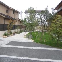 浜松市 N様邸 和風庭園と駐車場
