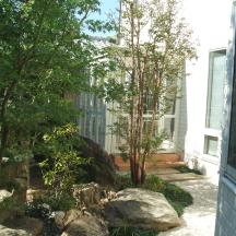 浜松市 H邸 石組の庭